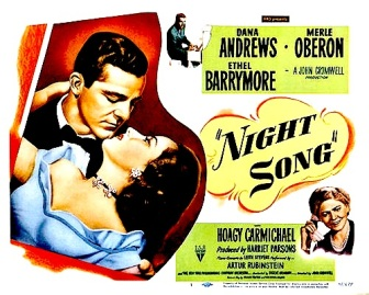 NIGHT SONG ( POSTER )