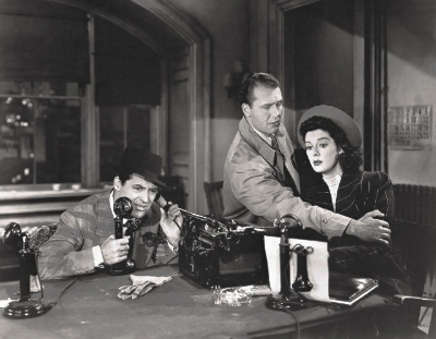essays on his girl friday A complete summary and analysis of the film his girl friday by howard hawks.