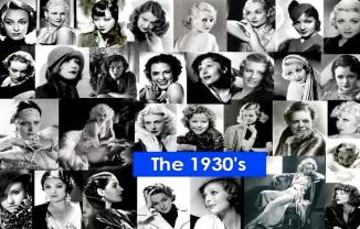 1930's B&W Collage