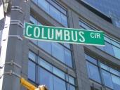 COLUMBUS CIRCLE SIGN