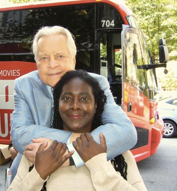 ROBERT OSBORNE & ME ( BUS TOUR )