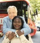 ROBERT OSBORNE & ME ( BUS TOUR )