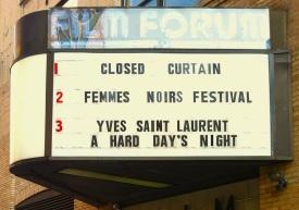 FEMMES NOIR FILM FORUM
