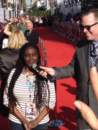 THERESA on the RED CARPET