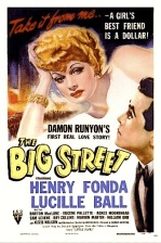BIG STREET ( Movie Poster )