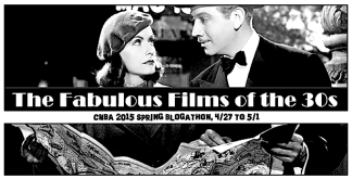 BLOGATHON ( FAB FILMS OF 30's )