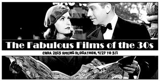 BLOGATHON ( FAB FILMS OF 30's )