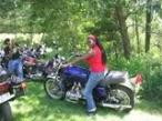 THERESA ON  MOTORCYCLE (I)