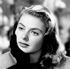 INGRID BERGMAN ( NOTORIOUS-COLLAGE )