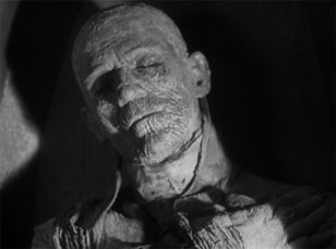 KARLOFF as THE MUMMY