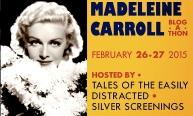 MADELEINE CARROLL BLOGATHON