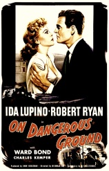 ON DANGEROUS GROUND ( Poster )