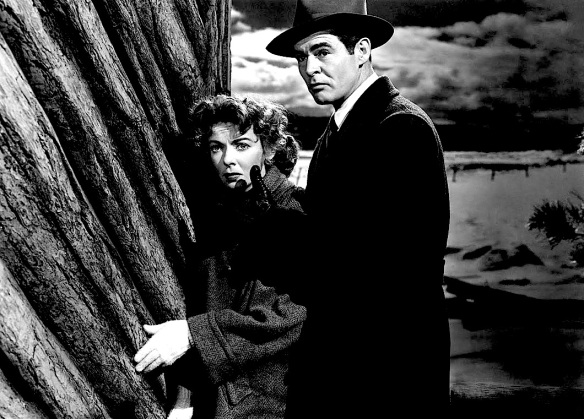 ROBERT RYAN - IDA LUPINO ( ON DANGEROUS GROUND )