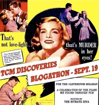 TCM DISCOVERIES BLOGATHON ( 9 : 19 : 2015 )