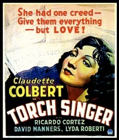 TORCH SINGER ( LOBBY CARD )