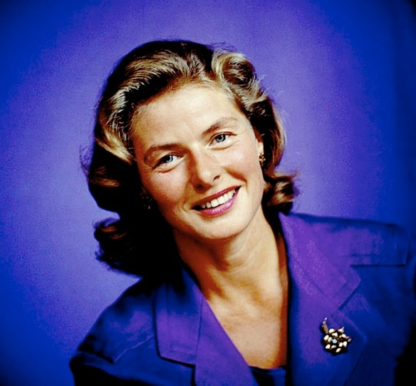 INGRID BERGMAN in COLOR