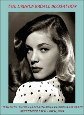 LAUREN BACALL BLOGATHON BANNER ( Mine )