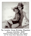 BLOGATHON ( LORETTA YOUNG BIRTHDAY ) 1 : 3 - 6