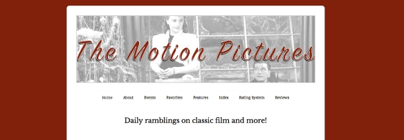 BLOGGER ( MOTION PICTURES - II )