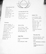 GREENHOUSE MENU ( Classic Film Reminder )