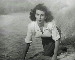 JOAN BENNETT ( On the Beach )