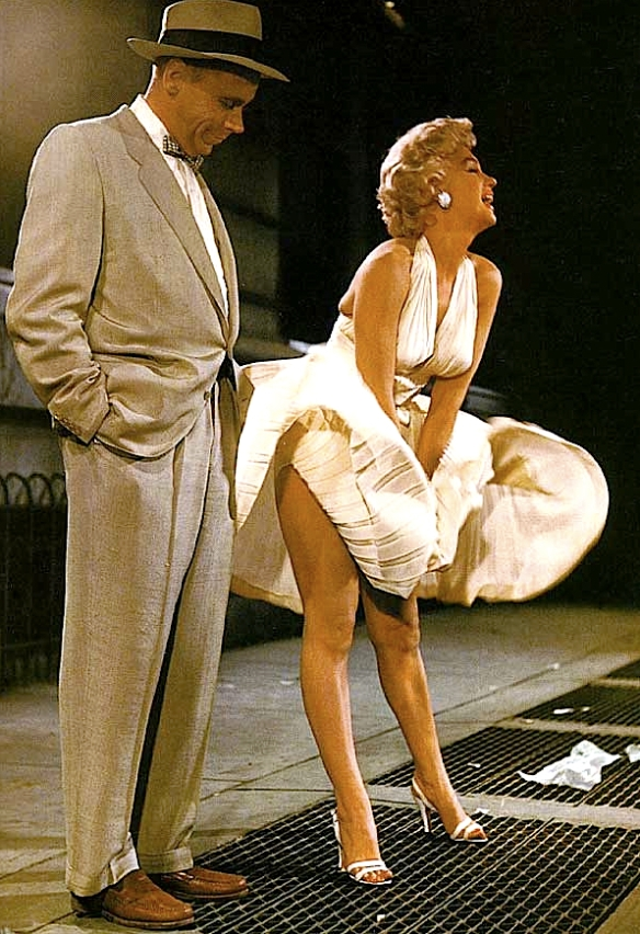 MARILYN MONROE in 7 YR ITCH