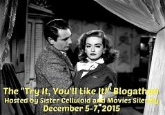 TRY IT, YOU'LL LIKE IT! BLOGATHON ( 12 : 5 - 7 : 2015 )