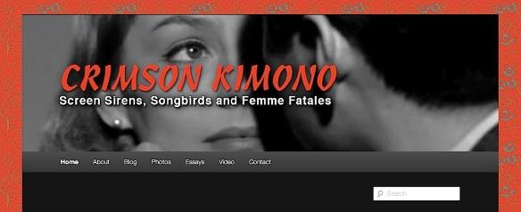 ( BLOGGER ) CRIMSON KIMONO - DAN