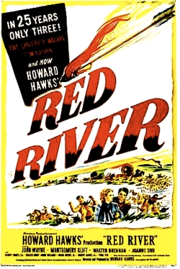 RED RIVER MOVIE POSTER