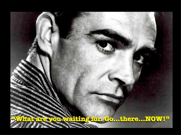 SEAN CONNERY - Go Now!
