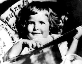 INGRID BERGMAN ( LITTLE GIRL )