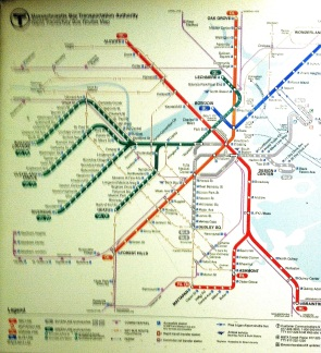 MASSACHUSETTS TRANSIT MAP