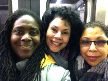 ME, EVE & LITA On the Red Line