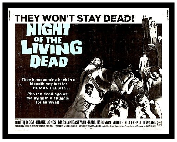 NITE OF THE LIVING DEAD ( MOVIE POSTER )