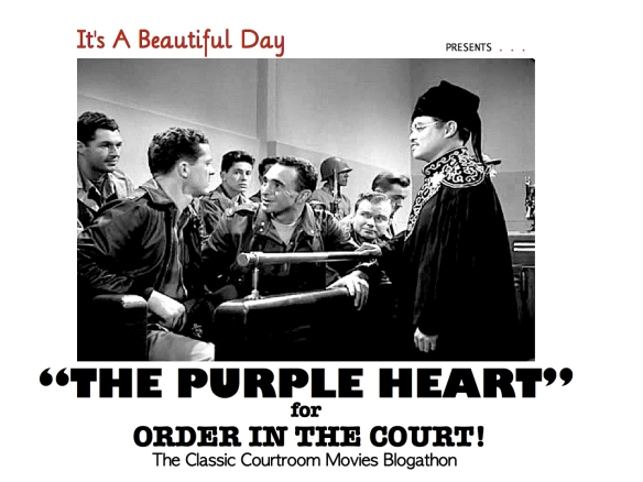 COURT BLOGATHON ( %22THE PURPLE HEART%22 )
