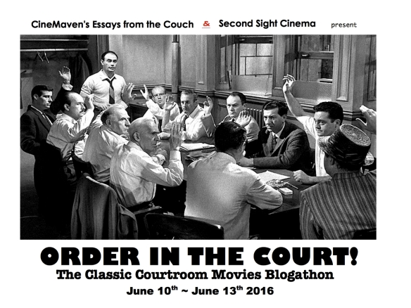 COURTROOM BANNER ( 12 ANGRY MEN )