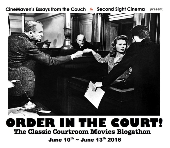 COURTROOM BANNER ( ANATOMY OF A MURDER )