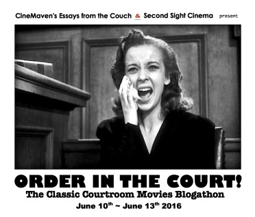 COURTROOM BANNER ( THEY DRIVE BY NIGHT )
