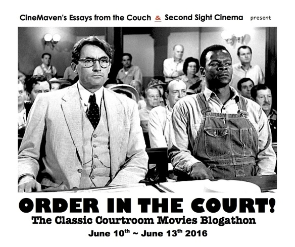COURTROOM BANNER ( TO KILL A MOCKINGBIRD )