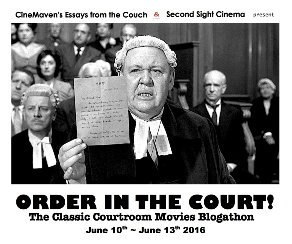 COURTROOM BANNER ( WITNESS FOR THE PROSECUTION )