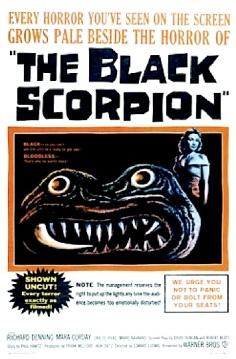 THE BLACK SCORPION ( MOVIE POSTER )