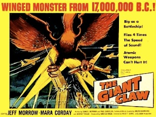 THE GIANT CLAW ( MOVIE POSTER )