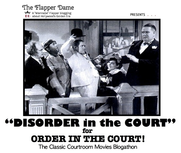 COURTROOM BLOGATHON ( %22DISORDER IN THE COURT%22 )