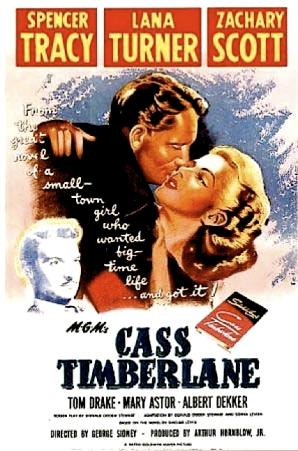 CASS TIMBERLANE ( Movie Poster )
