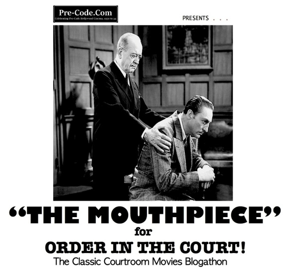 COURTROOM BLOGATHON ( %22THE MOUTHPIECE%22 )