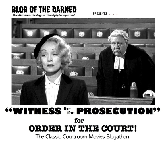 COURTROOM BLOGATHON ( %22WITNESS FOR PROSECUTION%22 )