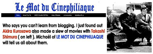 TWITTER - LE MOT DU CINEPHILIAQUE