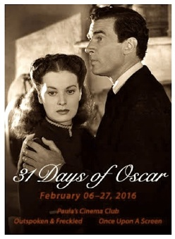 31 DAYS OF OSCAR BLOGATHON ( 2016 )