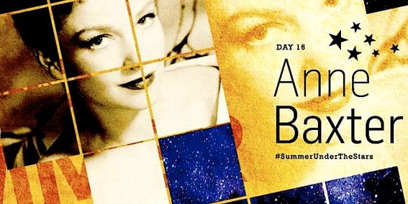 ANNE BAXTER ( SUMMER UNDER THE STARS )