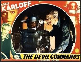 DEVIL COMMANDS ( MOVIE POSTER )